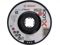 Brusný kotouč na kov X-LOCK Bosch Standard for Metal - 125x6.0x22.23mm