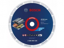 Diamantový kotouč na kov Bosch Diamond Metal Wheel X-LOCK - 230xM14/22.23mm