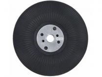 Opěrný talíř Bosch 125mm/M14, tvrdý,  pro brusné talíře s hrubým zrnem (P50 a hrubší)