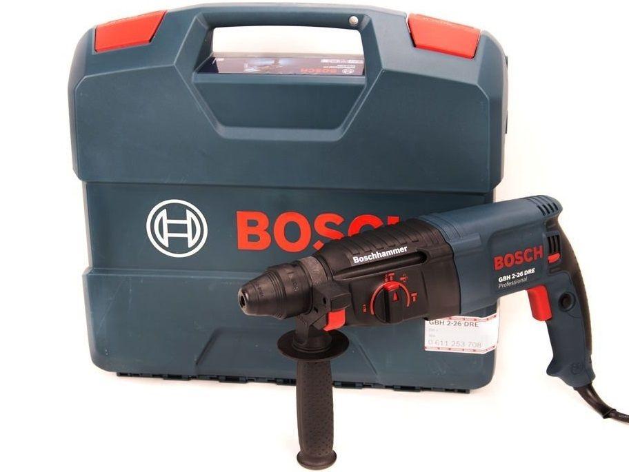 Bosch GBH 2-26 DRE Professional kombinované vrtací a sekací kladivo SDS-Plus, 800W, 2.7J, 2.7kg (0611253708 Bosch PROFI