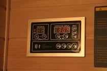 Infrasauna Belatrix Vista 2 pro 2 osoby - 120 x 115 x 190 cm, Kanadský jedlovec, plně spektrální + karbonové zářiče (KD-V002)
