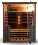 Infrasauna Belatrix Vista 3 pro 3 osoby - 150 x 120 x 190 cm, Kanadský jedlovec, plně spektrální + karbonové zářiče (KD-V003)