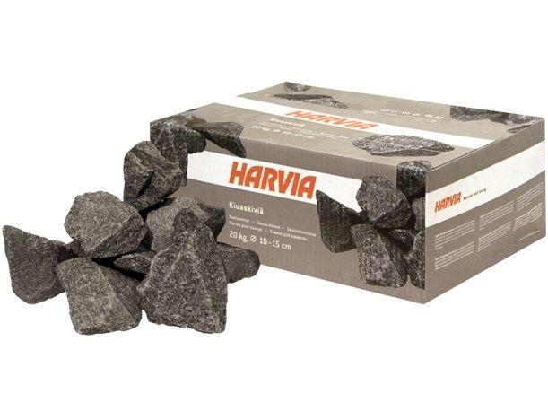 Saunové kameny Harvia 10-15cm šedé do finské sauny - 20kg (176111)