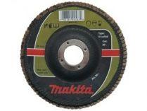 Lamelový brusný kotouč Makita - 125x22.2mm, zrnitost K120, karbidový