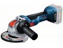 Bosch GWX 18V-10 (X-LOCK) Professional - 18V, 125mm, 2kg, bez aku, bezuhlíková aku úhlová bruska