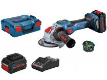 Bosch GWX 18V-15 SC (X-LOCK) Professional - 2x 18V/8.0Ah, 125mm, BT modul, 2.3kg, kufr