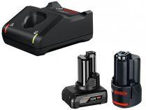 Bosch Startovací sada: 1× GBA 12V/4.0Ah + 1× GBA 12V/2.0Ah + GAL 12V-40 Professional