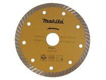 Diamantový turbo kotouč Makita - 125mm, 20mm, redukční kroužek 20-22.23mm