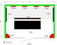 Infrasauna Belatrix Cedr Line 4 pro 4 osoby - 180 x 120 x 190 cm, červený cedr, plně spektrální + karbonové zářiče (KD-5004CL)