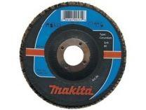 Lamelový brusný kotouč Makita - 125x22.2mm, zrnitost K120