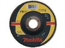 Lamelový brusný kotouč Makita Zirkon - 125x22.2mm, zrnitost K120