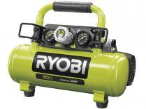 Aku kompresor Ryobi R18AC-0 - 18V, 8.3bar, 6.9kg, bez aku