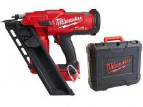 Bezuhlíková aku hřebíkovačka Milwaukee M18 FFN-0C - 18V, 5.1kg, kufr, bez aku
