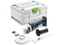 Festool AGC 18-125 EB-Basic - 18V, 125mm, kufr Systainer³, bez aku, bezuhlíková aku úhlová bruska