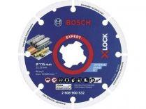 Diamantový kotouč na kov X-LOCK Bosch Expert, pr. 115mm