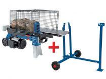 Štípač dřeva se stojanem Scheppach HL 760 LS - 2200W, 7t, 55kg