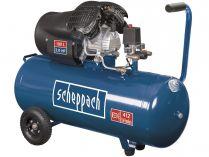 Olejový kompresor Scheppach HC 120 DC - 10bar, 412l/min, 100L, 52kg