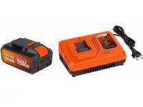 Sada PowerPlus POWDP9064: nabíječka 20V/40V + baterie 40V/2,5Ah LI-ION SAMSUNG