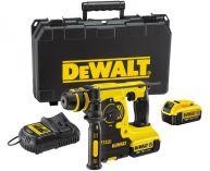 Kombi aku kladivo DeWalt DCH253M2, 2x 18V/4,0Ah XR Li-lon, 2.1J, SDS-Plus, 3.1kg, kufr