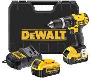 DeWalt DCD785M2, 2x 18V/4,0Ah XR Li-Ion, aku vrtačka s příklepem
