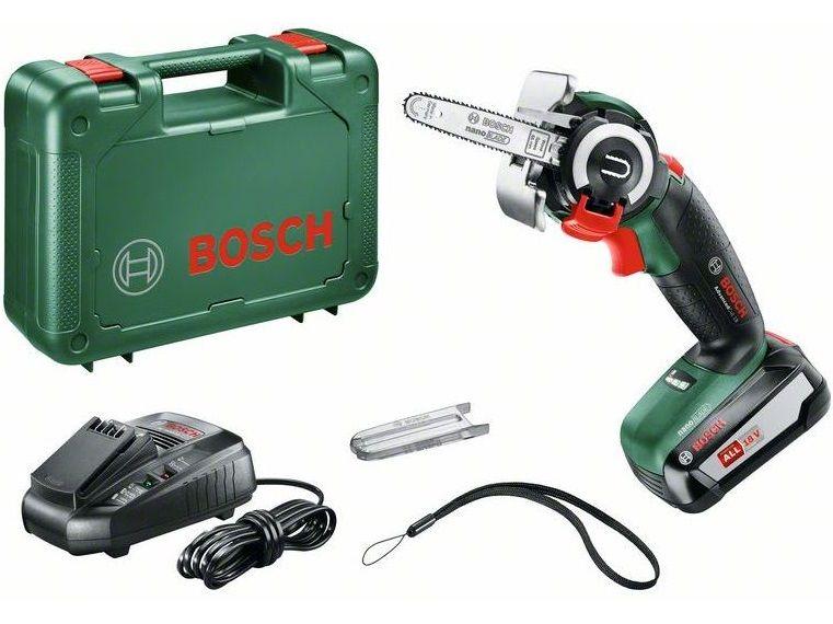 Aku řetězová pila Bosch AdvancedCut 18 - 1x aku 18V/2.5Ah, 1.1kg, kufr (06033D5101) Bosch HOBBY