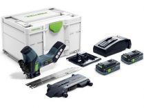 Bezuhl. aku pila na izolační materiály Festool ISC 240 HPC 4,0 EBI-Plus - 2x 18V/4.0Ah, Systainer³