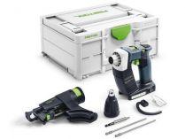 Festool DWC 18-4500 Basic - 18V, Systainer³, bez aku, bezuhlíkový aku šroubovák se zásobníkem