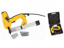 Elektrická sponkovačka / hřebíkovačka PowerPlus POWX13800 - 50W, 30úd./min, 2kg, kufr