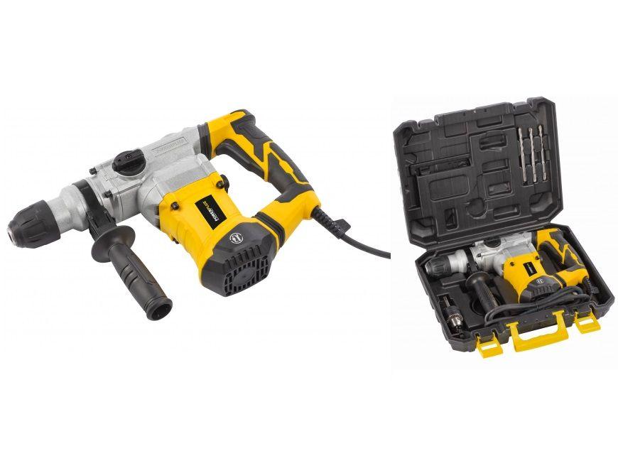 Kombinované pneumatické kladivo PowerPlus POWX11721 - SDS-Plus, 1200W, 5J, 5.5kg, v kufru PowerPlus (VARO)