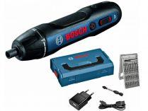 Bosch GO Professional - 3.6V, 5Nm, 0.31kg, sada bitů, kufr, přímý aku šroubovák