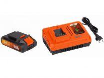 Sada PowerPlus POWDP9062: nabíječka 20V/40V + baterie 40V/2.0Ah LI-ION