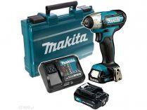 Makita TW060DSAE - 2x 12V/2.0Ah, 1/4'', 60Nm, 1kg, kufr, aku rázový utahovák