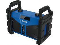Aku stavební rádio Narex BT 02 - 1x 7.2V/4.8Ah nebo 230V, Bluetooth, 2.6kg