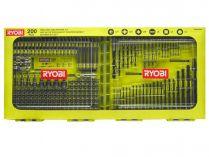 200-dílná sada vrtáků a bitů Ryobi RAKDD200