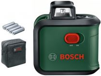 Křížový laser Bosch Advanced Level 360 Basic - 24m, taška, baterie