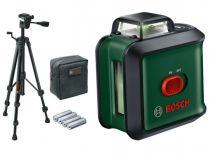 Křížový laser Bosch Universal Level 360 Sada - 24m, stativ, pouzdro, baterie
