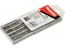 5-dílná sada 4břitých vrtáků Nemesis 2 Makita B-58992 - 5-10mm