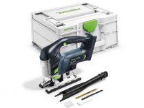 Festool CARVEX PSBC 420 EB-Basic - 18V, 120mm, kufr, bez aku, bezuhlíková aku přímočará pila