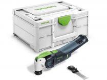 Bezuhlíkové aku multifunkční nářadí Festool VECTURO OSC 18 E-Basic - 18V, 1.8kg, bez aku