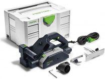 Elektrický hoblík Festool HL 850 EB-Plus - 850W, 82mm, 3.9kg, paralelní a hloubkový doraz, kufr