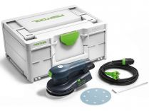 Festool ETS EC 125/3 EQ-Plus - 400W, 125mm, 1.2kg, kufr, excentrická bruska