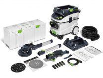 Sada nářadí Festool LHS 2 225/CTL 36-Set PLANEX - bruska na sádrokarton, mobilní vysavač, kufr
