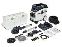 Sada nářadí Festool LHS 2 225/CTM 36-Set PLANEX - bruska na sádrokarton, mobilní vysavač, přísl.
