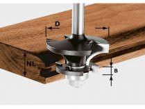 Kontraprofilová fréza pro drážku Festool HW S8 D43/21 A/KL - 43mm