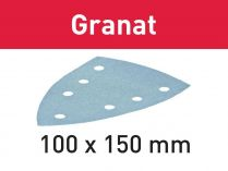 100x Brusný papír Festool Granat STF DELTA/7 P320 GR/100 - 100x150mm, zr. P320