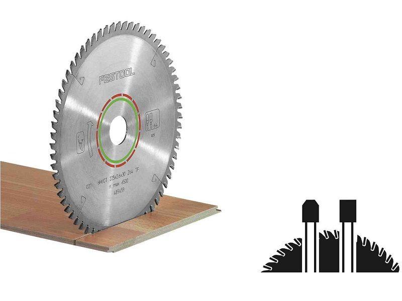 Pilový kotouč na zpracování laminátových podlah a minerálních materiálů pro pily Festool TS 55, TSC 55, ATF 55 a AP 55 (Festool HW 160x2,2x20 TF48) - 160x2.2x20mm, 48 zubů, kód: 496308