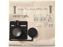 Filtrační vak pro vysavač Festool CT 22 (Festool FIS-CT 22/20) - 20ks