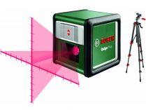 Křížový laser Bosch Quigo Plus - 635nm, 0.27kg, stativ