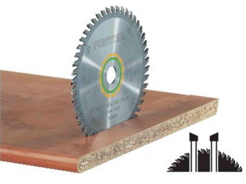 Pilový kotouč na čisté příčné řezy bez otřepů do masivního dřeva a na desky s povrchovou úpravou nebo dýhované desky pro pily Festool KS 120, KS 88 (Festool HW 260x2,5x30 W80) - 260x2.5x30mm, 80 zubů, kód: 494605