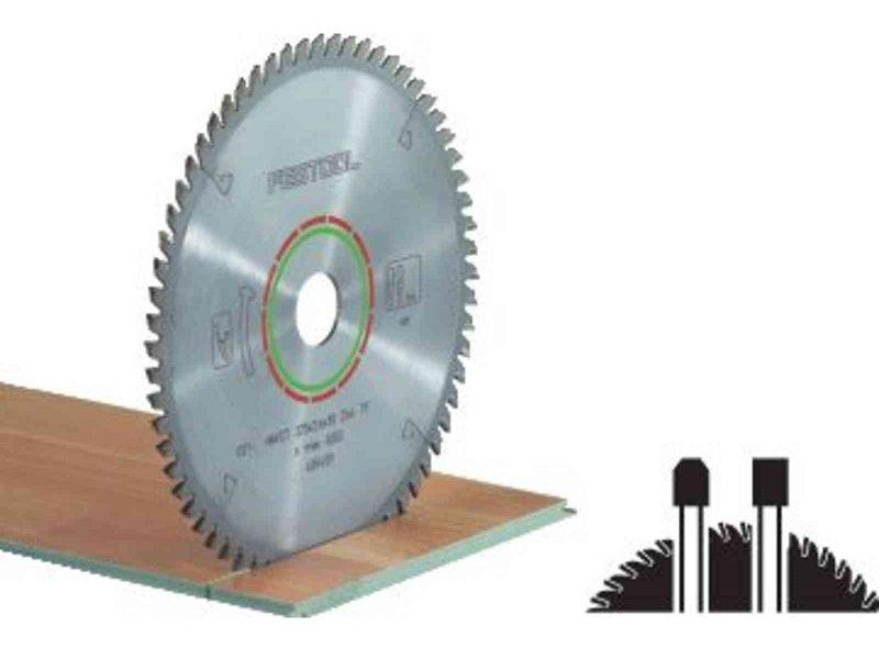 Pilový kotouč na zpracování laminátových podlah a minerálních materiálů pro pily Festool KS 120, KS 88 (Festool HW 260x2,5x30 WZ/FA64) - 260x2.5x30mm, 64 zubů, kód: 494606